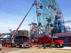 Wonder Wheel Removal 1