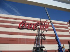 Coca-Cola sign in Glendale, AZ>