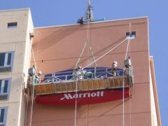 Big Air Sign Install Marriott Signs West Las Vegas
