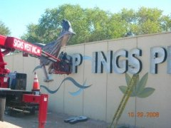 Fabricated Pan Channel Letters by Signs West las vegas
