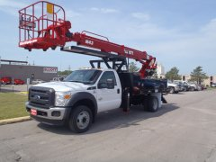 Elliott M43 HiReach on Ford F550 19,500 lb GVWR
