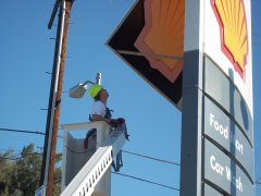 Big Sign Repair and Maintenance