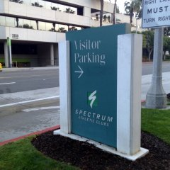 Parking Lot Wayfinding