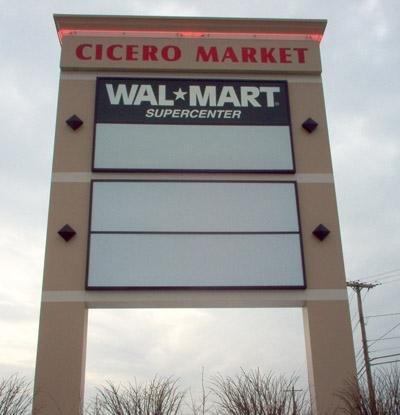 Walmart Pylon