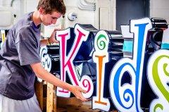 A little bit of our work... Detroit Sign Shop